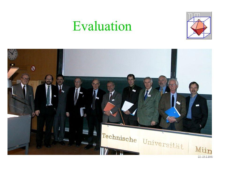 Evaluation 22.-23.2.2001