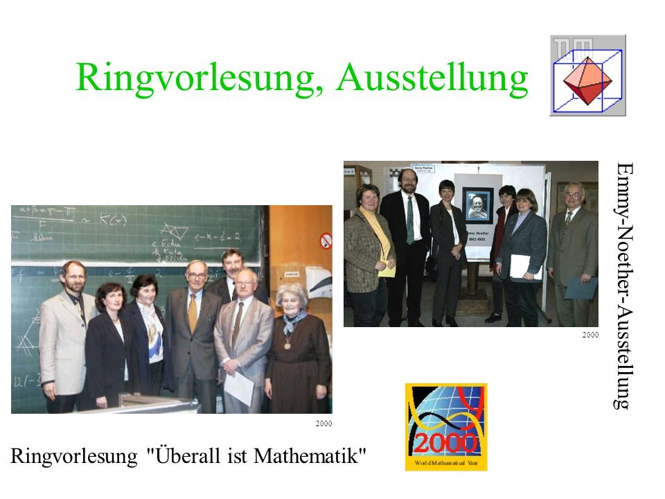 Ringvorlesung, Ausstellung Ringvorlesung