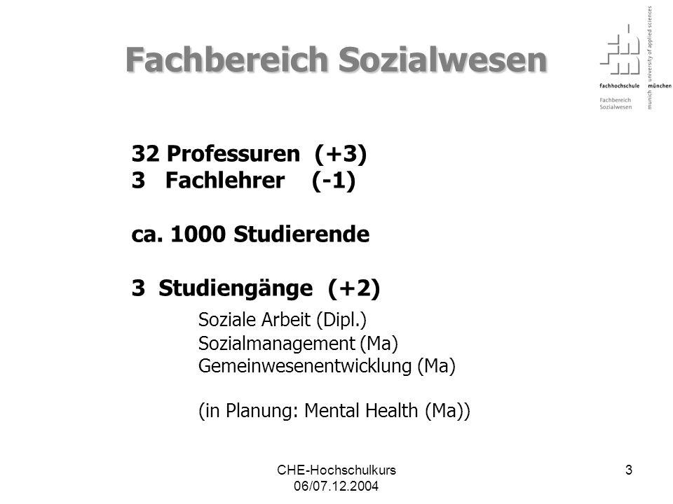 CHE-Hochschulkurs 06/07.12.2004 54 akademischer Anschluss.