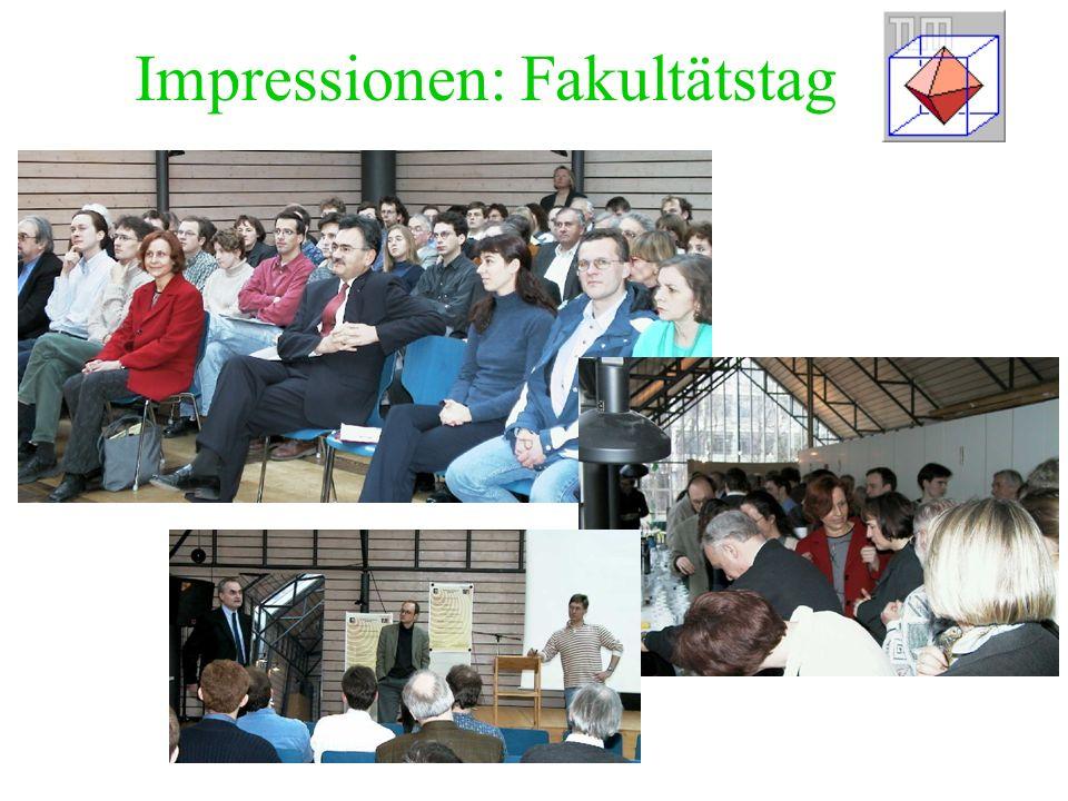 Impressionen: Fakultätstag