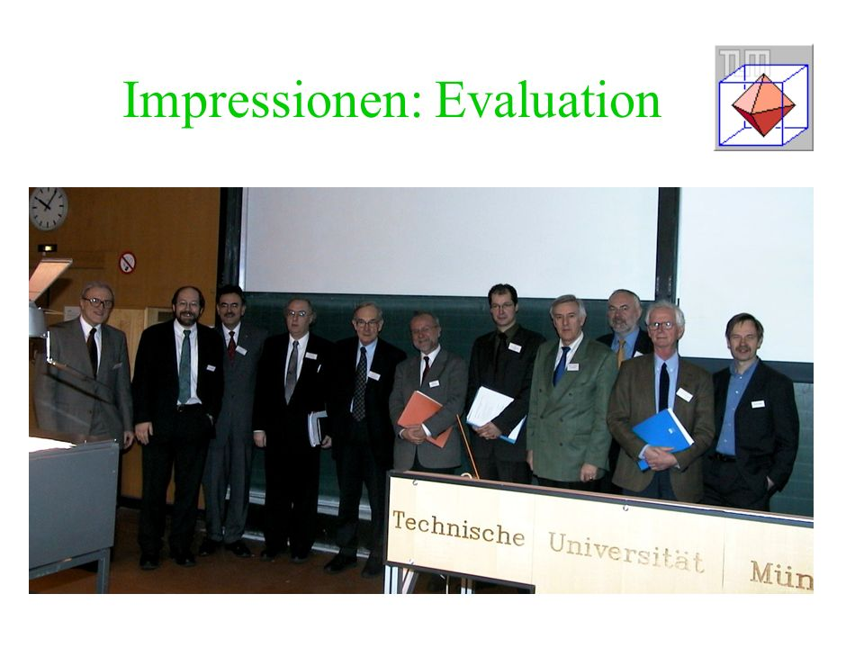 Impressionen: Evaluation