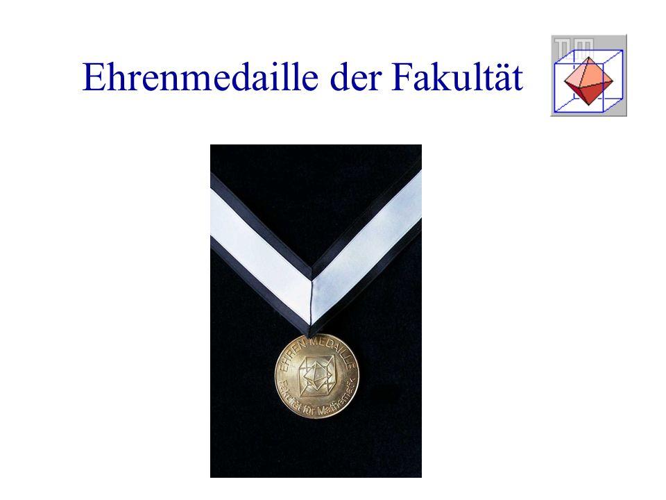 Ehrenmedaille der Fakultät