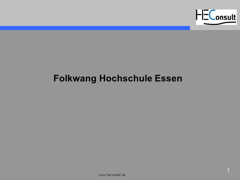 www.heconsult.de 1 Folkwang Hochschule Essen
