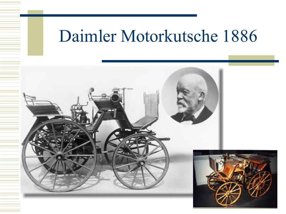 Benz Motorwagen 1886