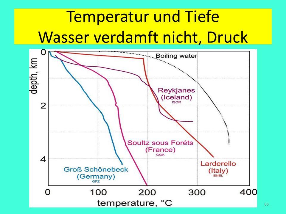 Temperatur und Tiefe Wasser verdamft nicht, Druck Amand Faessler. Tübingen65