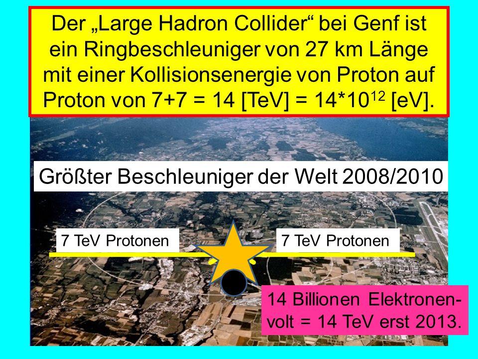Amand Fassler, Tübingen Beschleuniger-Verbund am CERN in Genf.