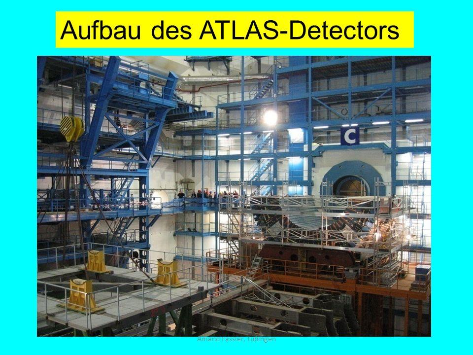 Amand Fassler, Tübingen Aufbau des ATLAS-Detectors