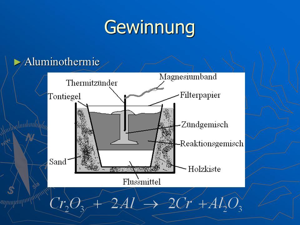 Gewinnung Aluminothermie Aluminothermie