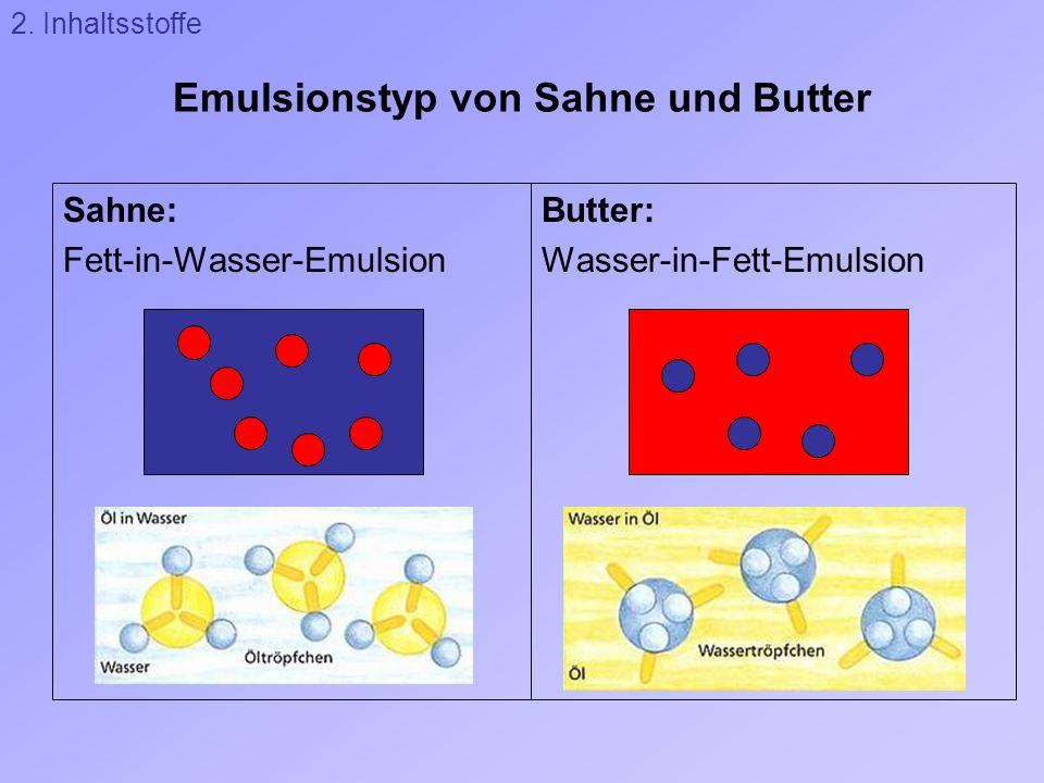 Versuch 2: Verdauung von Milchfett durch Lipase Wirkung von Lipase: Pancreatin: Enzym aus der Bauchspeicheldrüse (= Pancreas), Lipase 2.