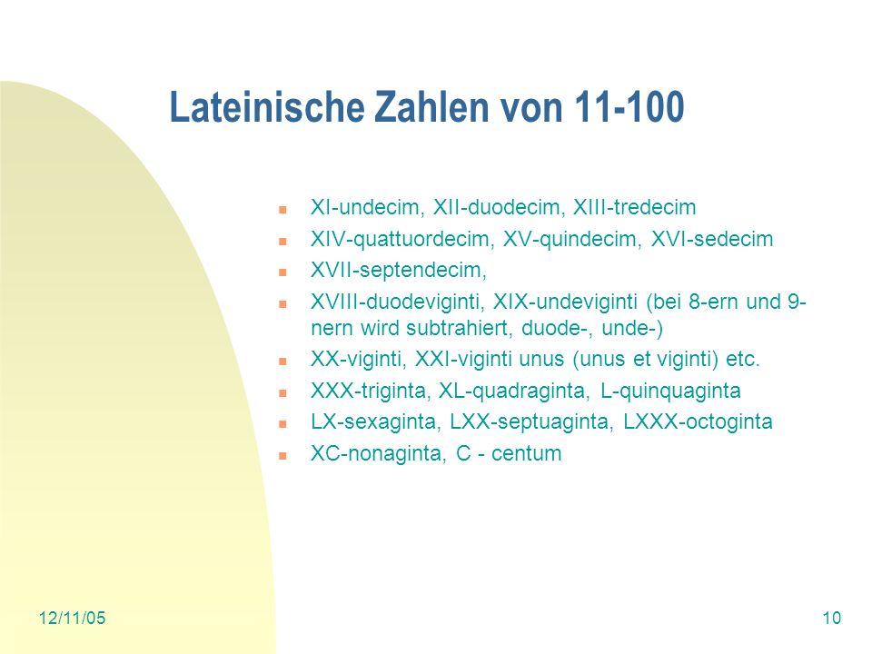 12/11/059 Zahwörter 3: Ladinisch Rätoromanisch un, ünain dui, düesdeus treitreis caterquater cinchtschun sissis setsiat ototg nünov discdiesch