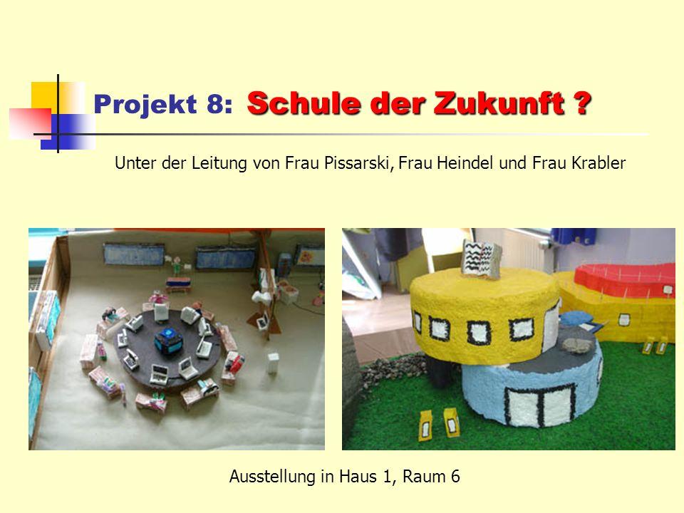 Schule der Zukunft . Projekt 8: Schule der Zukunft .