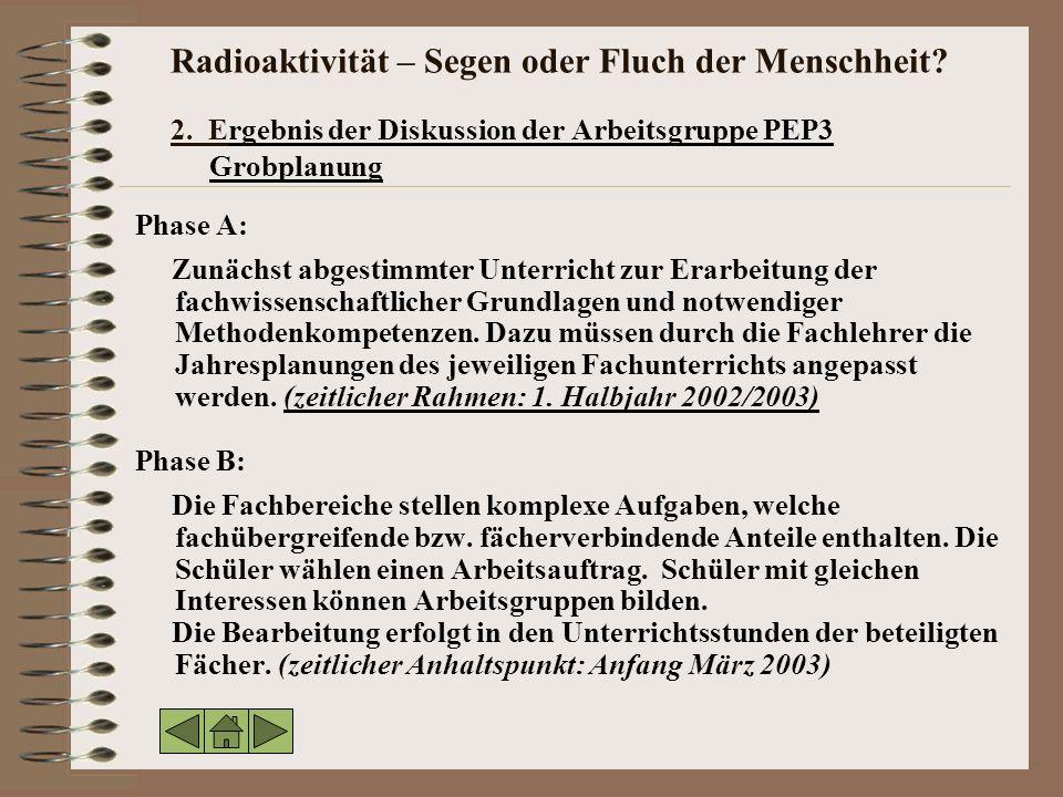 Radioaktivität – Segen oder Fluch der Menschheit.2.