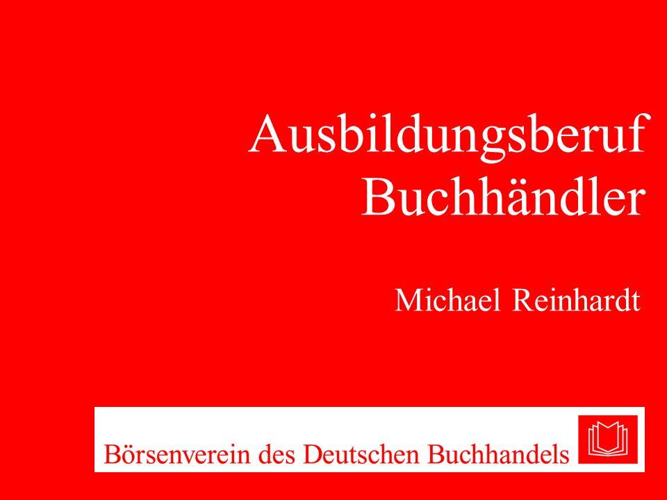 Ausbildungsberuf Buchhändler Michael Reinhardt