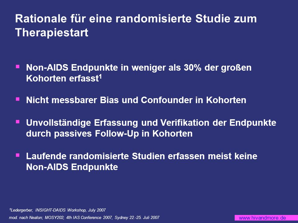 www.hivandmore.de TMC278: HDL-Cholesterin Veränderung über 48 Wochen (Mittelwert) mod.