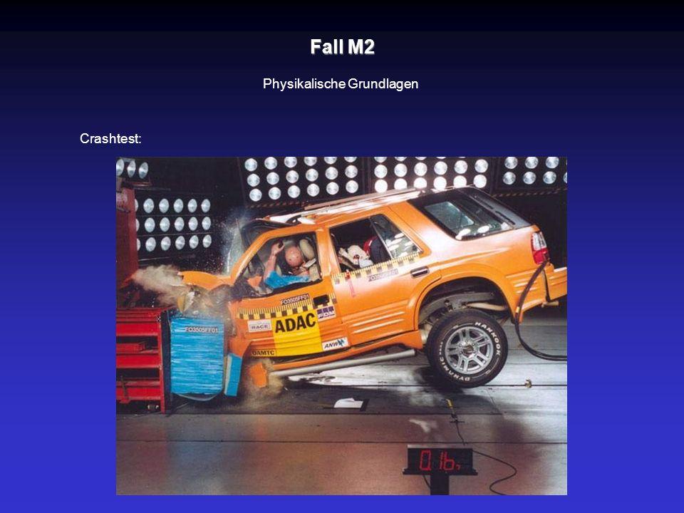 Fall M2 Physikalische Grundlagen Crashtest:
