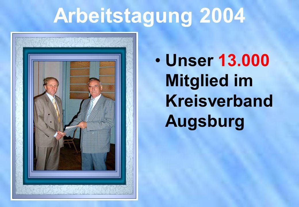 Unser 13.000 Mitglied im Kreisverband Augsburg