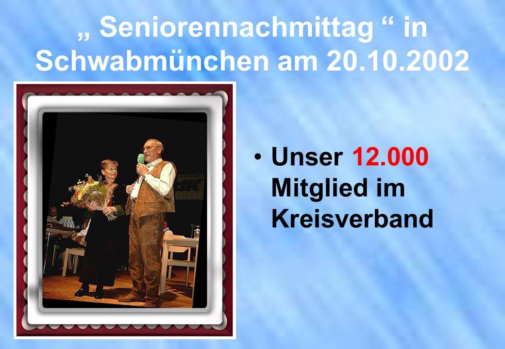 Unser 12.000 Mitglied im Kreisverband