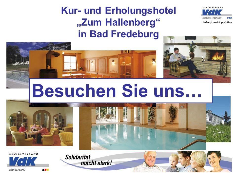 Kur- und Erholungshotel Zum Hallenberg in Bad Fredeburg Besuchen Sie uns…
