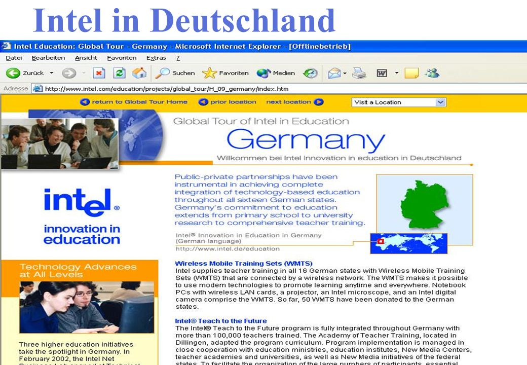 Intel in Deutschland