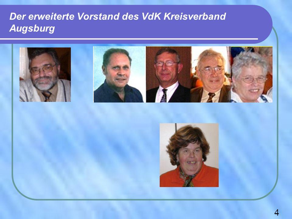 Mitglieder des Kreisverbandes Augsburg als Vertreter im Landesverband Bei der 1.