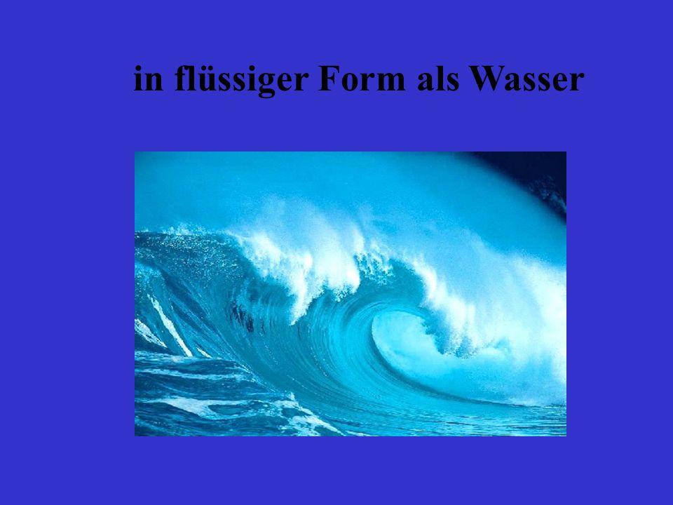 Kühlt sich Wasserdampf ab, so werden die Teilchen langsamer und die Abstände zwischen den Teilchen werden kleiner: der Wasserdampf wird wieder zu Wasser.