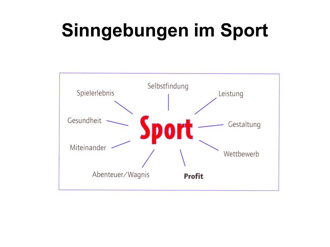 Sinngebungen im Sport