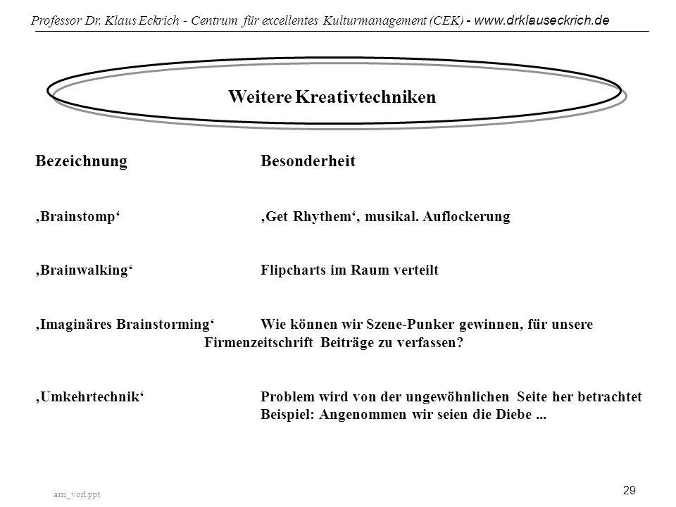 am_vorl.ppt Professor Dr.