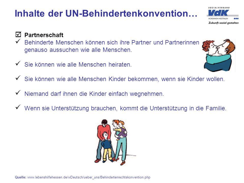 Partnerschaft Behinderte Menschen können sich ihre Partner und Partnerinnen genauso aussuchen wie alle Menschen.