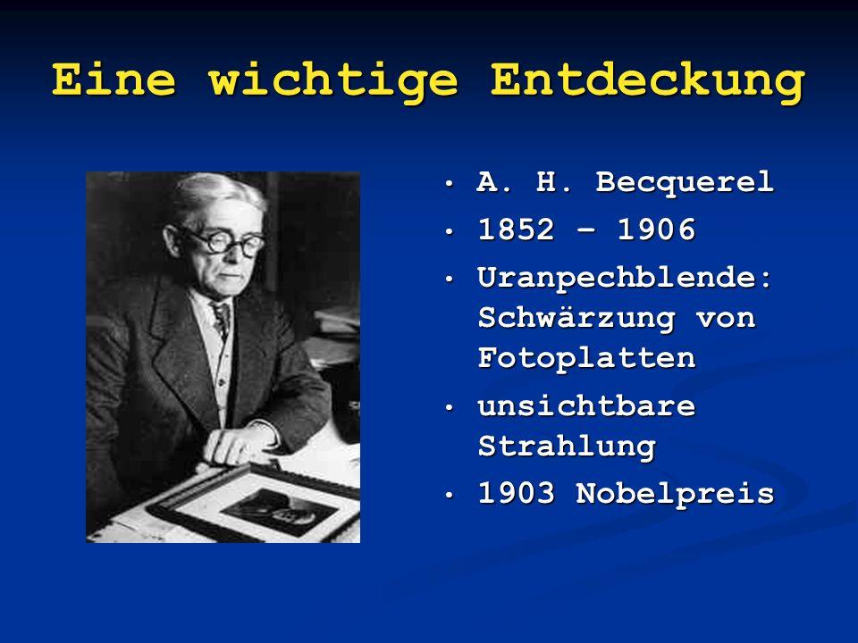 Übersicht Entdeckung der Radioaktivität Entdeckung der Radioaktivität Entdeckung der Radioaktivität Entdeckung der Radioaktivität Atommodell Atommodel