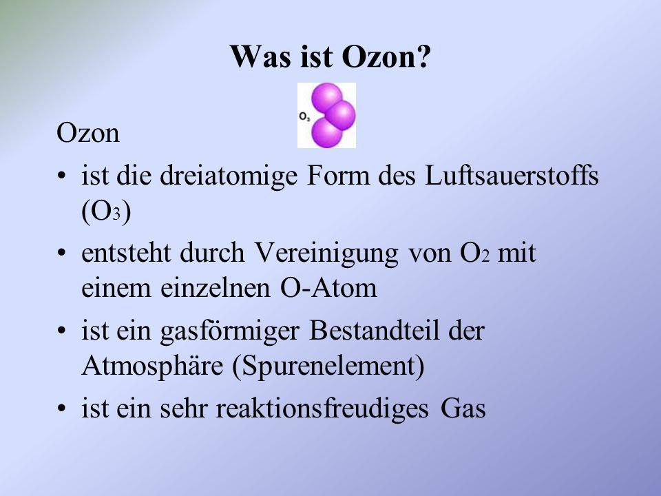 Welche Folgen hat das Ozonloch.