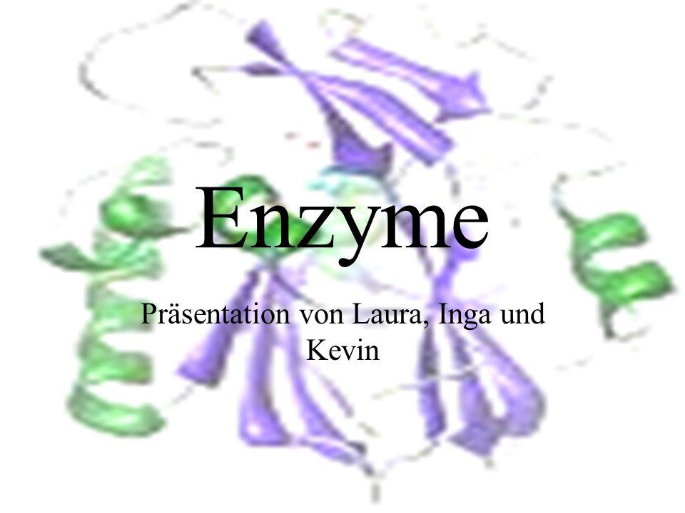 Enzyme Präsentation von Laura, Inga und Kevin