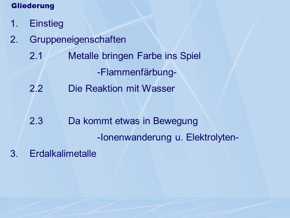 Alkalimetalle 1807 1807 K aus Pflanzenasche 1807 1807 Na (ägypt.: neter = Soda) 1817 1817 Li in Gesteinsmaterialien (gr.:lithos = der Stein) 1860/61 1860/61 Cs u.