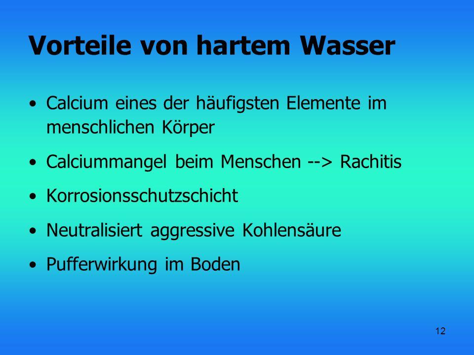 13 Wasserenthärtungsmöglichkeiten Ausfällen Auflösen Komplexierung Ionenaustauscher Physikalische Wasserbehandlung