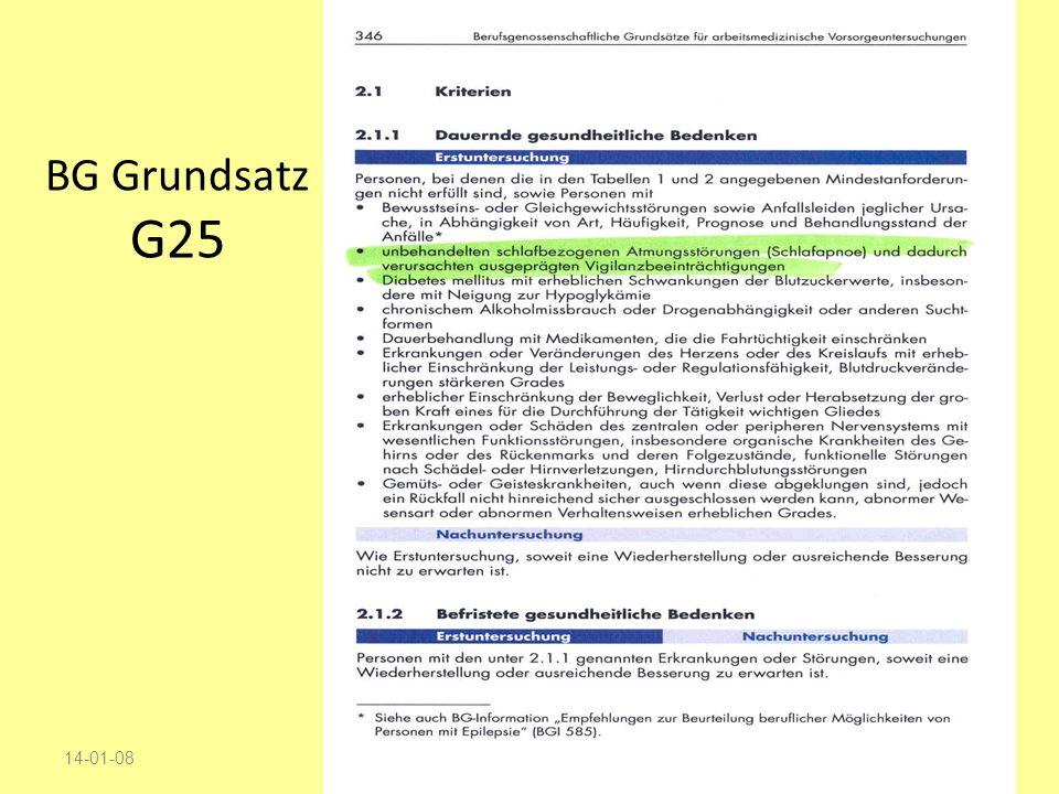 BG Grundsatz G25 14-01-08 27