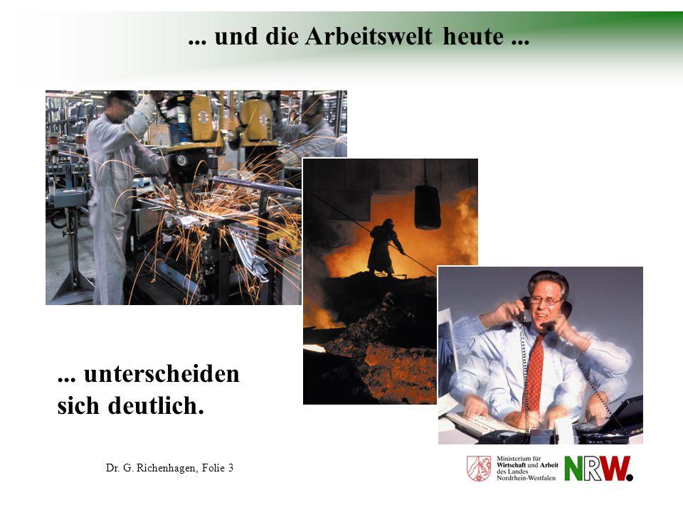 Dr. G. Richenhagen, Folie 34 Gesünder Arbeiten mit System