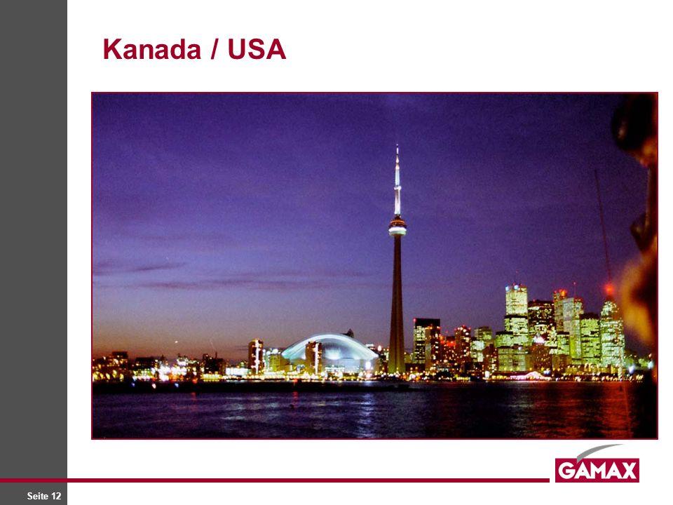Seite 12 Kanada / USA