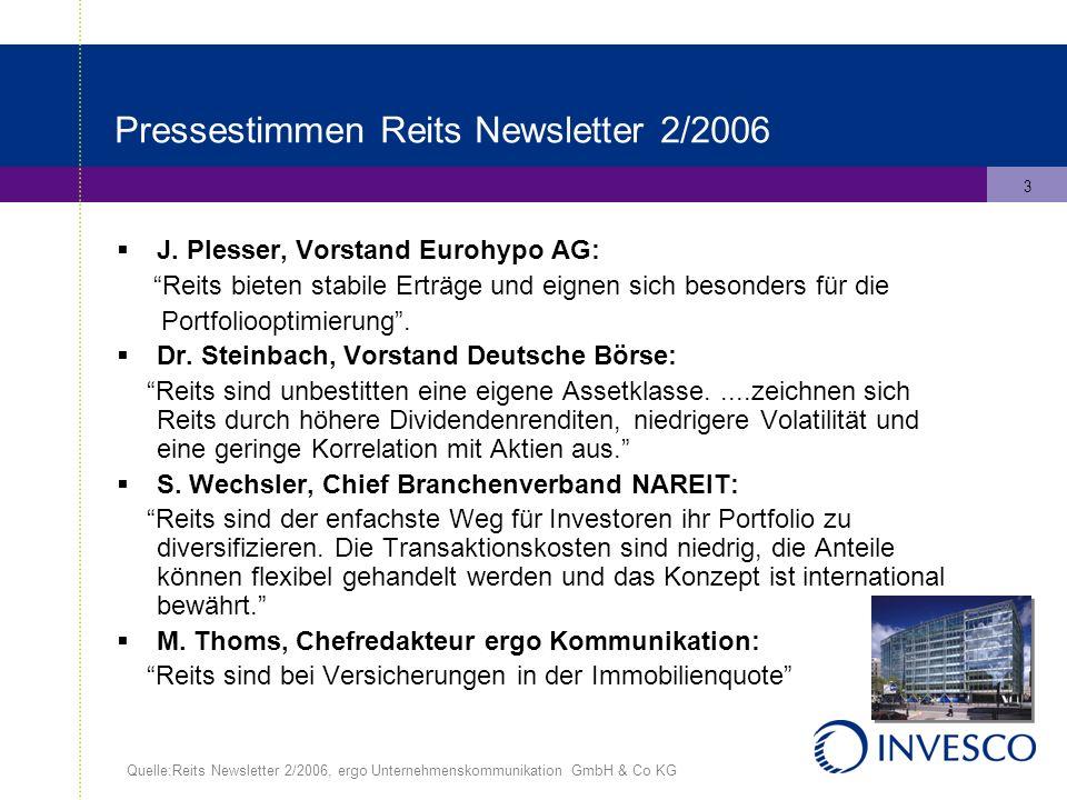 3 Pressestimmen Reits Newsletter 2/2006 J.