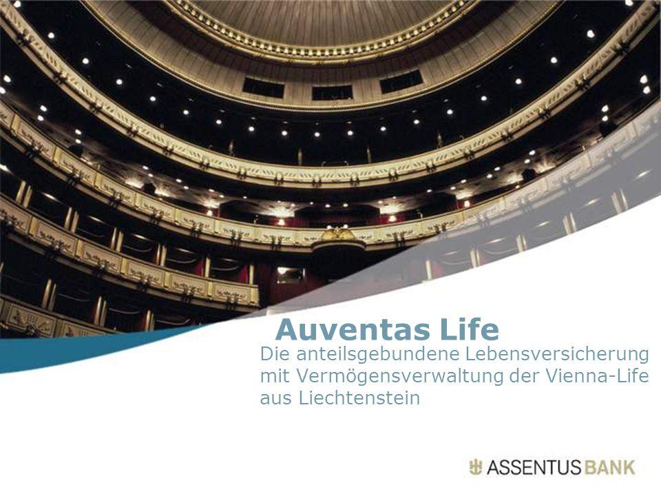 Auventas Life Die anteilsgebundene Lebensversicherung mit Vermögensverwaltung der Vienna-Life aus Liechtenstein