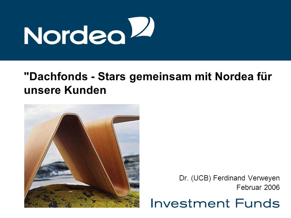 8-Jan-1422 Balanced – Top 10 & Sektorallokation Quelle: Nordea Investment Funds S.A, Datum: 31.12.2005 3,61 3,85 Oppenheim Weisenhorn Europa Fund 3,91 Martin Currie GF Japan Fund 3,91 H-Port Huber Defensive I 4,36 M&W Invest M&W Caoital 6,33GLG Invest GBL Conv UCITS Fund EU 6,78Cazenove Pan Europe Fund X Class 6,86FVS Portfolio Wandelanleihen Fund 6,93Squad Capital Value Fund 7,24Lehman Bros European Alpha Value A Größte Positionen in % CDC Intl Loomis US Large Cap Ght I