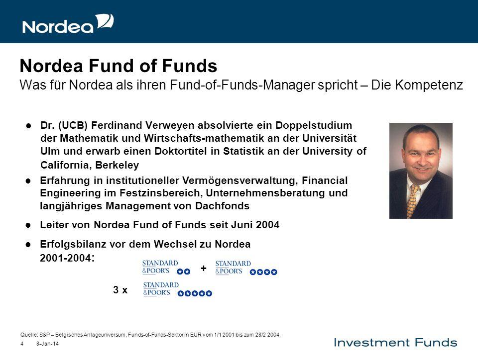 8-Jan-144 Dr. (UCB) Ferdinand Verweyen absolvierte ein Doppelstudium der Mathematik und Wirtschafts-mathematik an der Universität Ulm und erwarb einen