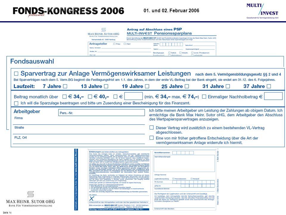 Seite 14 01. und 02. Februar 2006