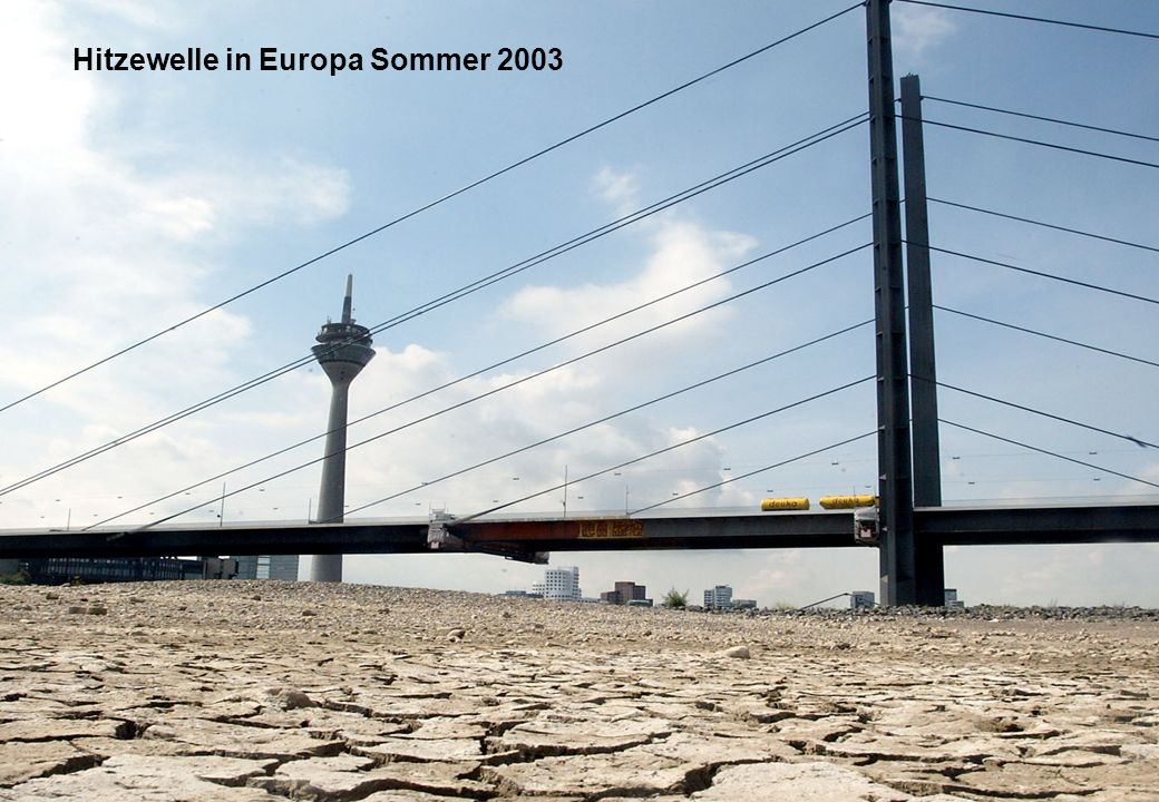 23 Hitzewelle in Europa Sommer 2003