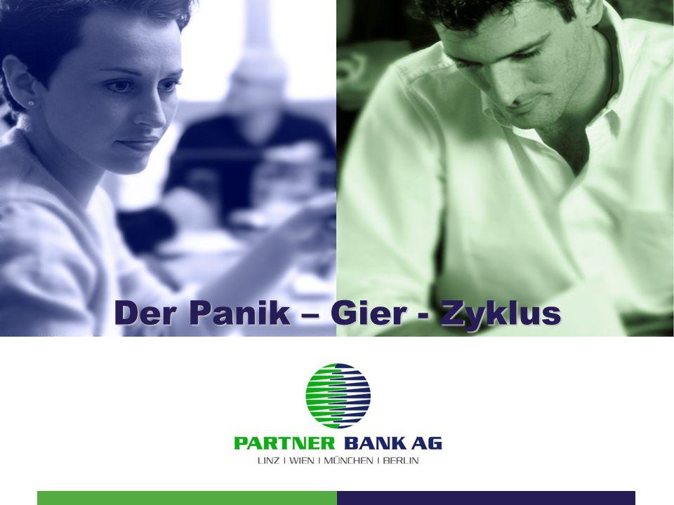 Der Panik – Gier - Zyklus