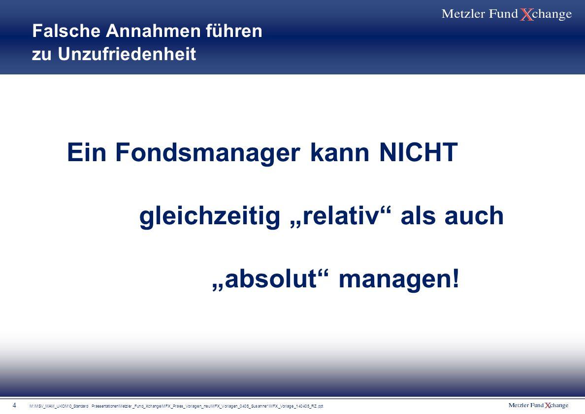 M:\MSV_MAM_UKOM\0_Standard Praesentationen\Metzler_Fund_Xchange\MFX_Praes_Vorlagen_neu\MFX_Vorlagen_0405_Susanne^\MFX_Vorlage_140405_RZ.ppt 4 Falsche