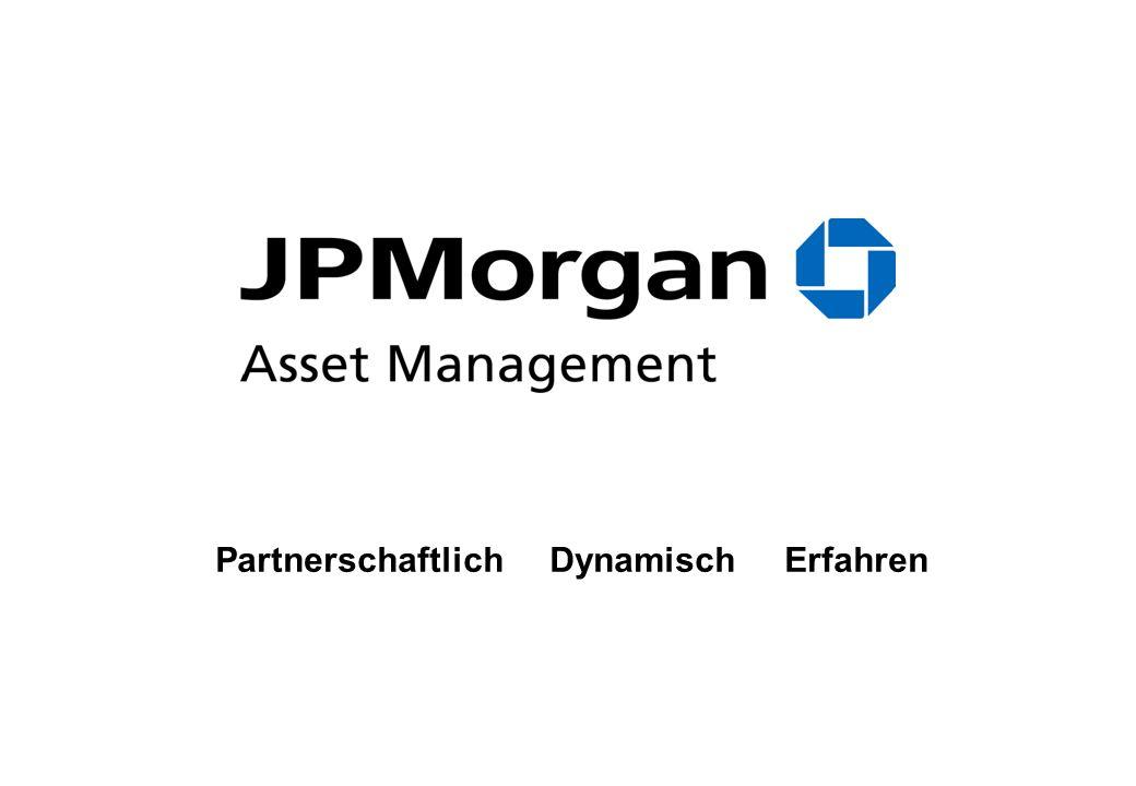 24 JPM Europe Dynamic Mega Cap Fund – Wertentwicklung seit Auflegung Quelle: Bloomberg, Stand: 25.01.2007, Performance in Prozent. Aus der Wertentwick