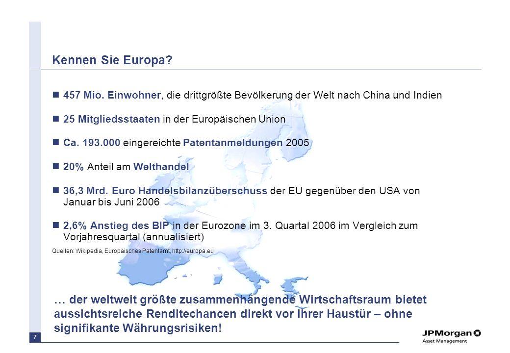 6 Agenda Europa im Fokus: Aussichtsreiche Chancen direkt vor Ihrer Haustür Unsere Strategie: –Behavioural Finance Ansatz: Emotionen als Quelle für Ren