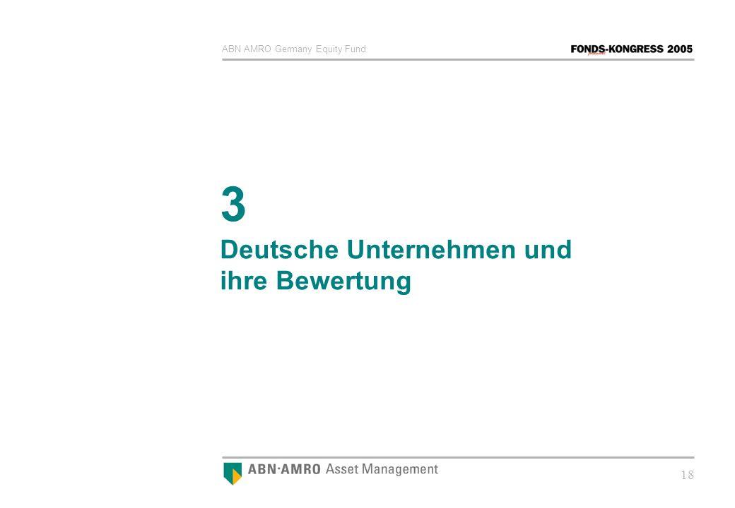 ABN AMRO Germany Equity Fund 18 3 Deutsche Unternehmen und ihre Bewertung