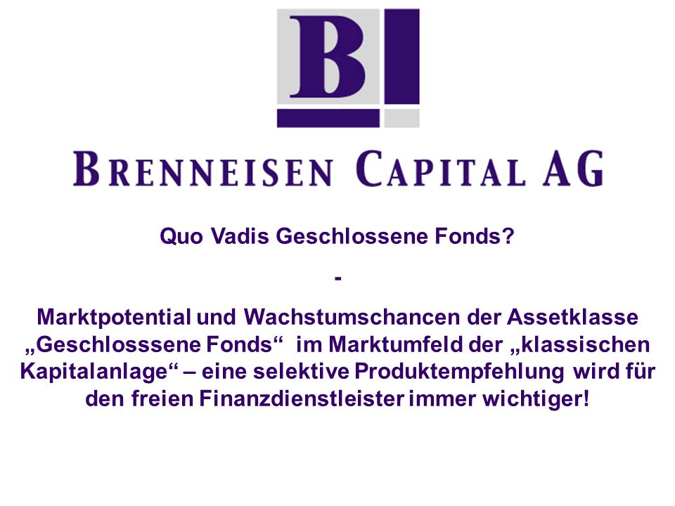 www.brenneisen-capital.de Umfangreicher After - Sales - Service (Bsp.