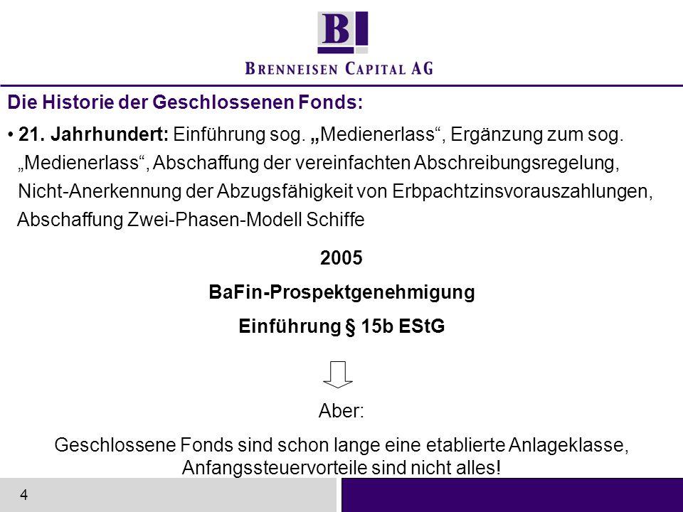Der Gesamtmarkt der Geschlossenen Fonds 2005 5