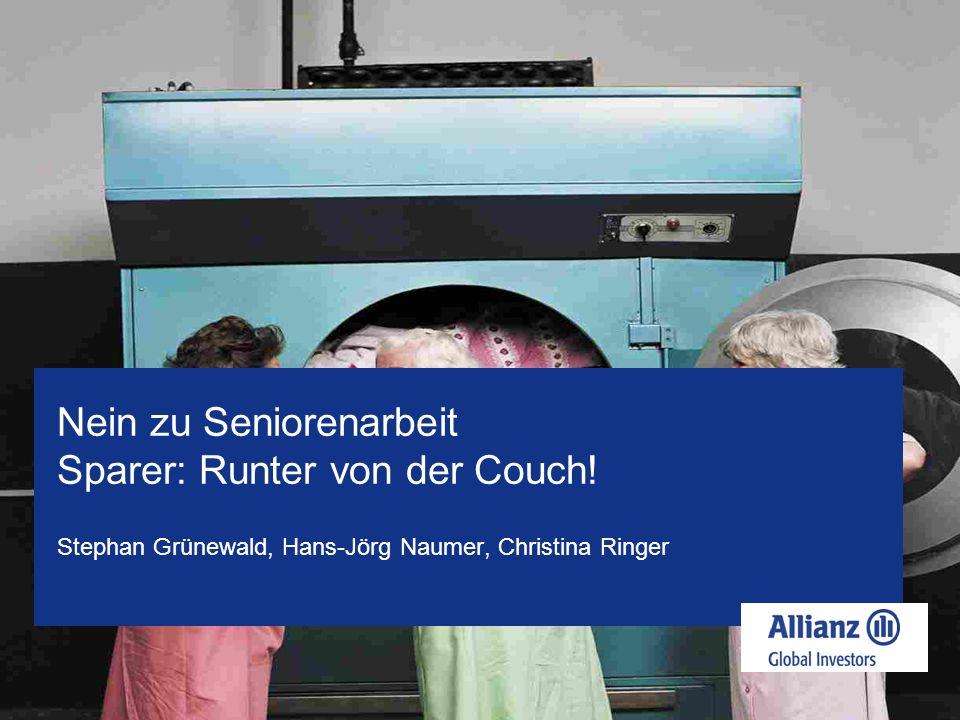 Stephan Grünewald, Hans-Jörg Naumer, Christina Ringer Nein zu Seniorenarbeit Sparer: Runter von der Couch!